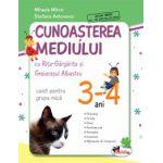 Cunoasterea Mediului cu Rita Gargarita si Greierasul Albastru - Caiet - Grupa mica 3-4 ani