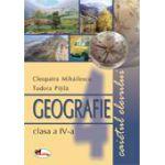 Geografie - Clasa a IV-a - Caietul elevului