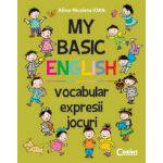 My Basic English - vocabular, expresii, jocuri