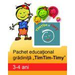 Pachet educational pentru gradinita 'TimTim-Timy' ( 3-4 ani )
