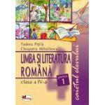 Limba Romana - Clasa a IV-a - Caietul elevului - Partea I