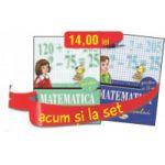 Set caiete Matematica pentru clasa a II-a - Semestrele I si II