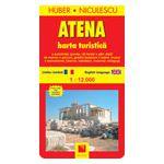 Atena - Harta turistica si rutiera