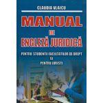 Manual de Engleza Juridica pentru studentii facultatilor de drept si pentru juristi