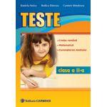 Teste - Limba romana, matematica, cunoasterea mediului - Clasa a II-a