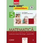 Mate 2000 pentru clasa a V-a - Partea a II-a, CONSOLIDARE. Matematica, aritmetica, algebra, geometrie