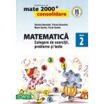 Mate 2000, clasa a II-a. Consolidare 2013