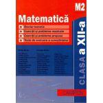 Matematica M2. Culegere de probleme pentru clasa a XII-a (Marius Burtea)