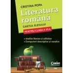 Literatura Romana - Caietul elevului pentru clasa a VI-a (Cristina Popa)