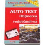 Auto Test 2014 - Obtinerea si redobandirea permisului de conducere 13 din 15