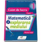 Matematica si explorarea mediului, set 2 caiete clasa I