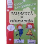Matematica si explorarea mediului pentru clasa pregatitoare, caiet de lucru. Semestrul 2