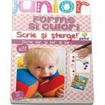 Forme si culori. Scrie si sterge (Junior 2-5 ani)