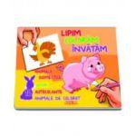 Lipim, Coloram, Invatam. Animale domestice, Jocuri, Autocolante, Animale de colorat