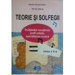 Teorie si solfegii, manual pentru clasa a V-a