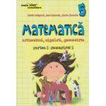 Matematica 2000 CONSOLIDARE 2015 - 2016 aritmetica, algebra, geometrie clasa a V-a partea I, semestrul 1