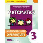 MATE 2000 - CONSOLIDARE. Matematica si explorarea mediului, pentru clasa a III-a. Modalitati de lucru diferentiate