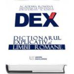 Dictionarul explicativ al limbii romane - Academia Romana, (editie noua 2016)