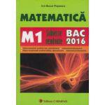 Bacalaureat 2016 Matematica M1 - Subiecte rezolvate