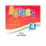 Curs de limba engleza Access 4. Students audio CD 1 (Intermediate B1)