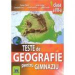 Teste de geografie pentru gimnaziu, clasa a VIII-a