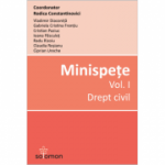 Minispete - Drept civil (vol. 1)
