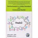 Concursul Euclid, clasa a III-a - Laura-Roxana Alexandru. Performanta in Limba Romana