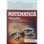 Matematica FILIERA TEORETICA pentru clasa a IX-a. Specializarea matematica informatica (Trunchi comun si curriculum diferentiat de tip M, mate-info)