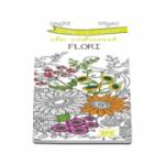 Semne de carte de colorat - Flori