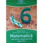Matematica, caiet pentru vacanta de vara clasa a VI-a. Clubul matematicienilor