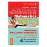 Ghid pentru evaluarea nationala la Matematica. 62 de teste de evaluare dupa modelul MEN - Exercitii si probleme recapitulative