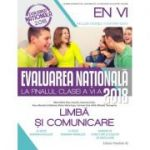 Evaluarea Nationala 2018 la finalul clasei a VI-a. Limba si comunicare