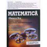 Matematica - profil M1, pentru clasa a X-a. Filiera teoretica, specializarea matematica-informatica