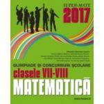 Olimpiade si concursuri scolare matematica 2017 - clasele VII-VIII