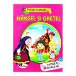 Povesti cu puzzle. Hansel si Gretel (Contine 6 Puzzle-uri)