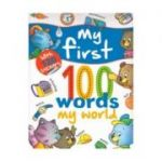 My first 100 words - My world, with 120 Stickers