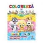 Coloreaza cu Baby Looney Tunes - Mari desene pentru micii artisti