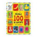 Bebe invata primele 100 de cuvinte. Carte cu ferestruici