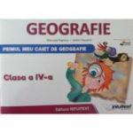 Geografie, primul meu caiet clasa a IV-a - Stefan Pacearca
