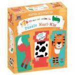Creeaza animale, Puzzle Maxi-Mix