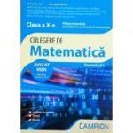 Culegere de matematica clasa a X-a semestrul 1 - Filiera teoretica, specializarea matematica-informatica