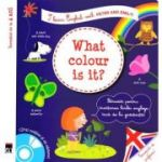 What color is it! I learn Englishj with Peter and Emily!