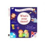 What's your name? + CD - I learn English with Peter and Emily