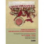 Familiile boierești din Moldova si Tara Românească vol. 5 (Ceaur - Cuza)