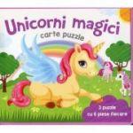 Unicorni magici. Carte puzzle