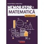 Memorator de matematică pentru clasele 9-12