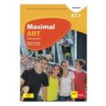 Maximal ART A1. 1 - Limba germana - Clasa 5 L2 - Cartea elevului + CD + DVD - Giorgio Motta