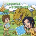 Desenez dinozauri cu sabloane