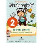 Exercitii si teste clasa a II-a. Ortografie, tainele scrisului corect - Georgiana Gogoescu