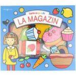 Carte cu puzzle - La magazin